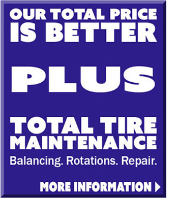 Totall Tire Pricing from Jack Furrier
